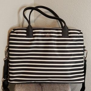 Kate Spade NY Striped Laptop Bag